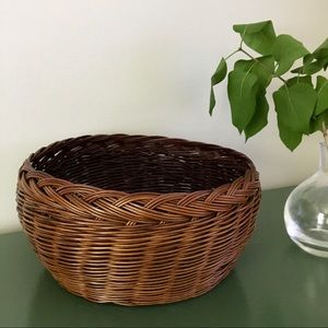 Woven Accent Basket